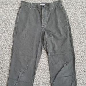 J Crew olive green size 10.pants